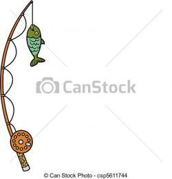 Can clipart fishing pole