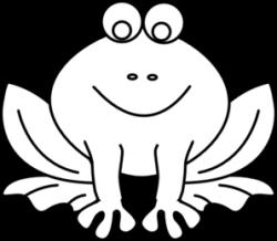 Amphibian clipart outline