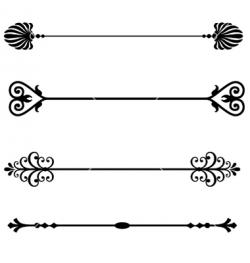 Decoration clipart page divider