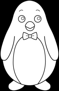 Lines clipart penguin