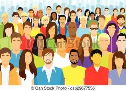 Audience clipart group person