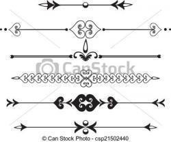 Line clipart rule line