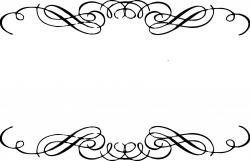 Lines clipart scrollwork