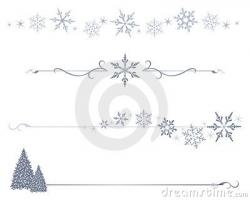 Lines clipart snowflake