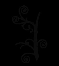 Swirl clipart branch