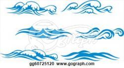 Sream clipart water wave