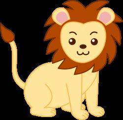 Lioness clipart cute