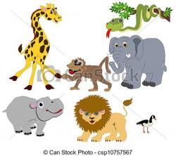Animl clipart wild animal