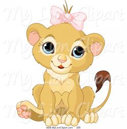 Big Cat clipart lion lioness