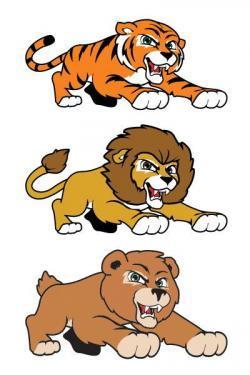 Lioness clipart lion tiger
