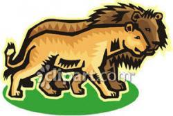 Lioness clipart loin