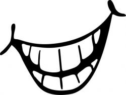 Grin clipart smile mouth