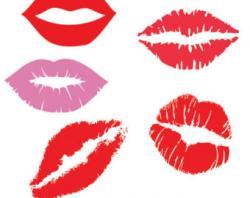 Lips clipart fashion item