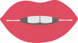 Lips clipart funny