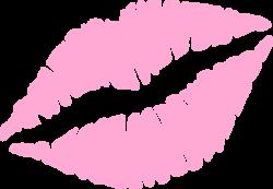 Lips clipart kiss mark