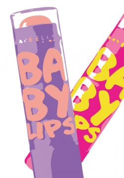 Drawn nutella baby lip