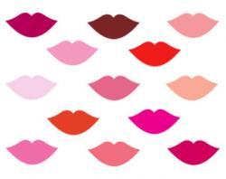 Makeup clipart lip outline