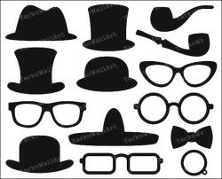 Top Hat clipart photo booth
