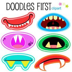 Lips clipart monster