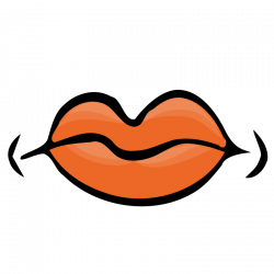 Lips clipart mouth shut