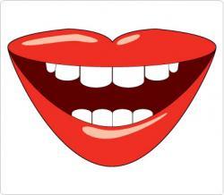Fangs clipart happy lip