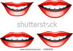 Lips clipart mouth smile