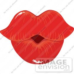 Lips clipart puckered lip