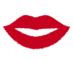 Lips clipart red lipstick