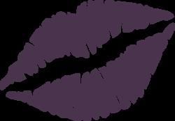 Lips clipart stencil