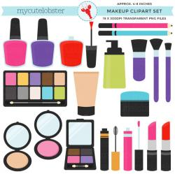 Makeup clipart set