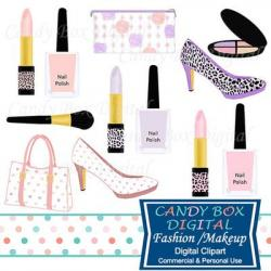 Lipstick clipart makeup bag