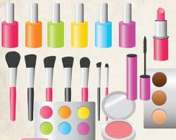 Lipstick clipart makeup brush