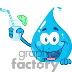 Liquid clipart cartoon