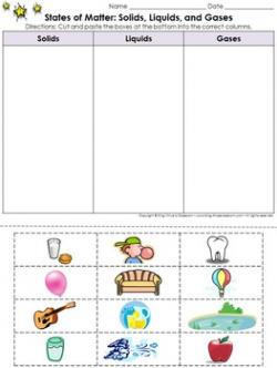 Liquid clipart classroom activity