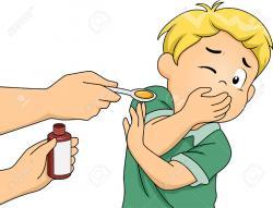 Syrup clipart kid medicine
