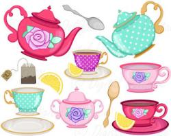 Tea Party clipart british tea