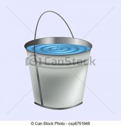 Liquid clipart water bucket