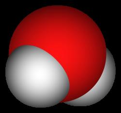 Molecule clipart h20