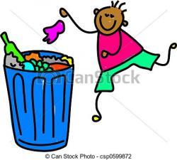 Trash clipart litter picking
