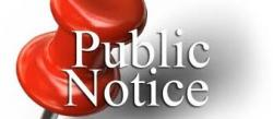 Notice clipart public notice