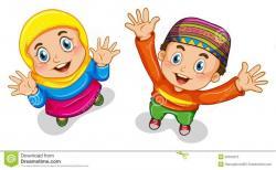 Islam clipart muslimah cartoon