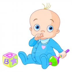 Stork clipart baby toy