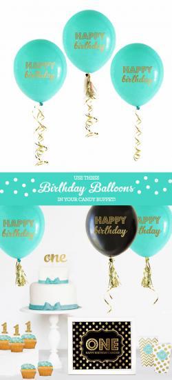Little Boy clipart birthday decoration