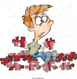Puzzle clipart helpful child