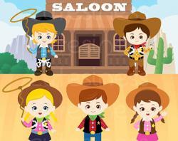 Western clipart texas cowboy