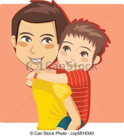 Little Boy clipart dad