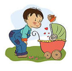 Little Boy clipart eld brother