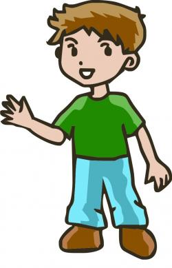 Little Boy clipart guy
