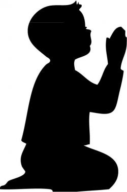 Shadows clipart prayer