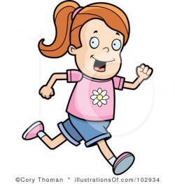Race clipart kid athletic